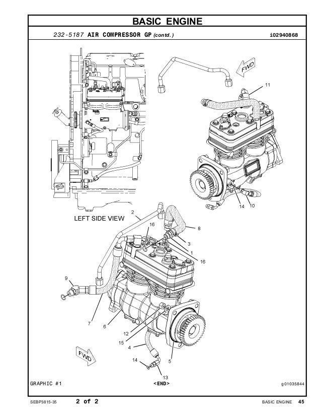 C15 Caterpillar Engine Parts Diagrams