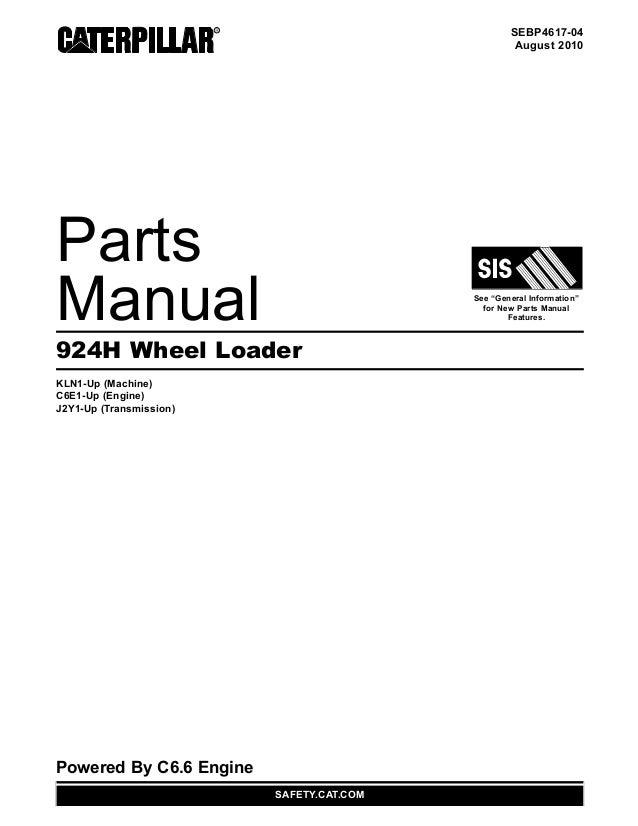 manual de partes del cargador de ruedas 924h www oroscocat com rh slideshare net caterpillar 277 service manual cat 277 parts manual