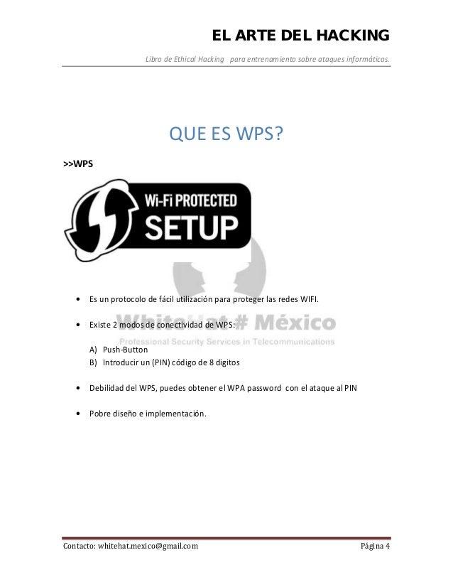 Manual de pentesting sobre ataque a encriptado wps wpa con