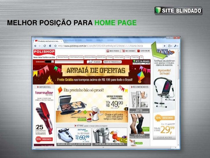 MELHOR POSIÇÃO PARA HOME PAGE<br />