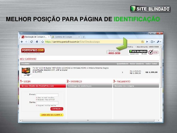 MELHOR POSIÇÃO PARA PÁGINA DE IDENTIFICAÇÃO<br />A página de IDENTIFICAÇÃO é uma das mais importantes do processo de compr...