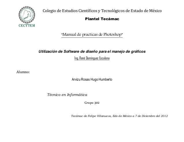 Colegio de Estudios Científicos y Tecnológicos de Estado de México                                      Plantel Tecámac   ...