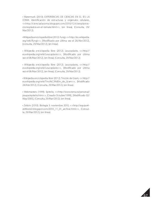 Manual De Prácticas De Biologìa I