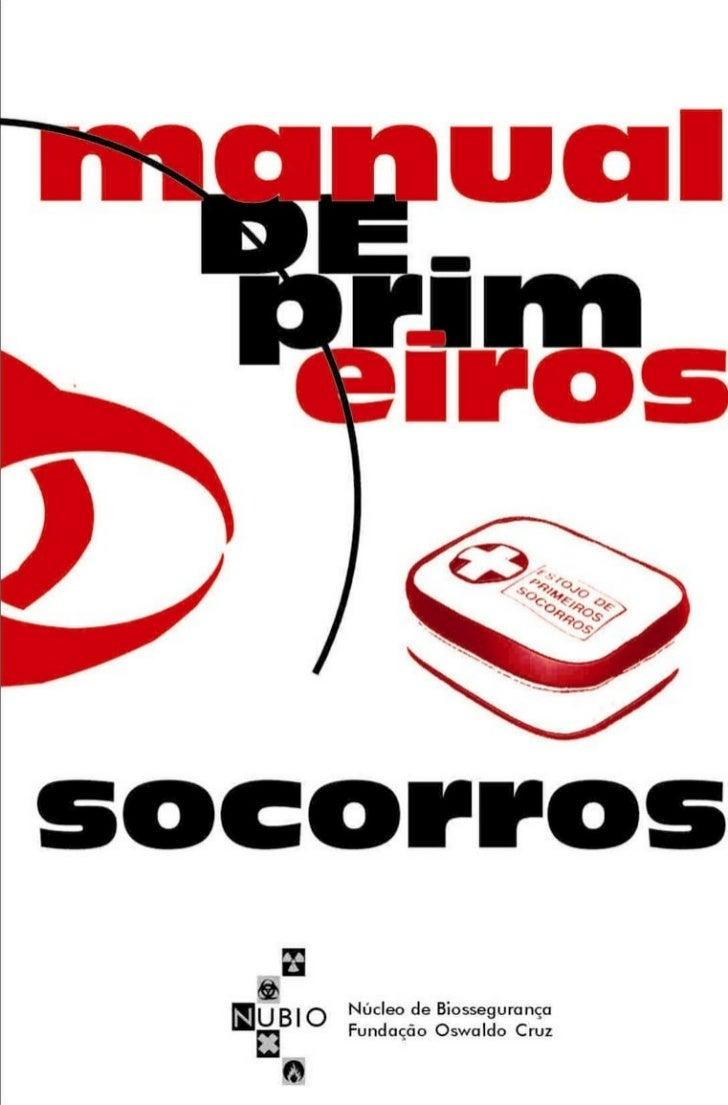 Manual de Primeiros Socorros - Bombeiros Portugueses