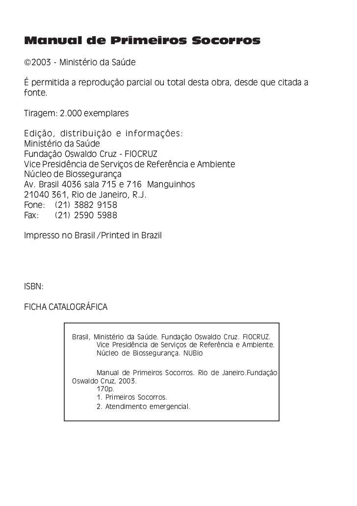Ministério da SaúdeMinistro Barjas NegriFundação Oswaldo CruzPresidentePaulo Marchiori BussVice-Presidência de Pesquisa e ...