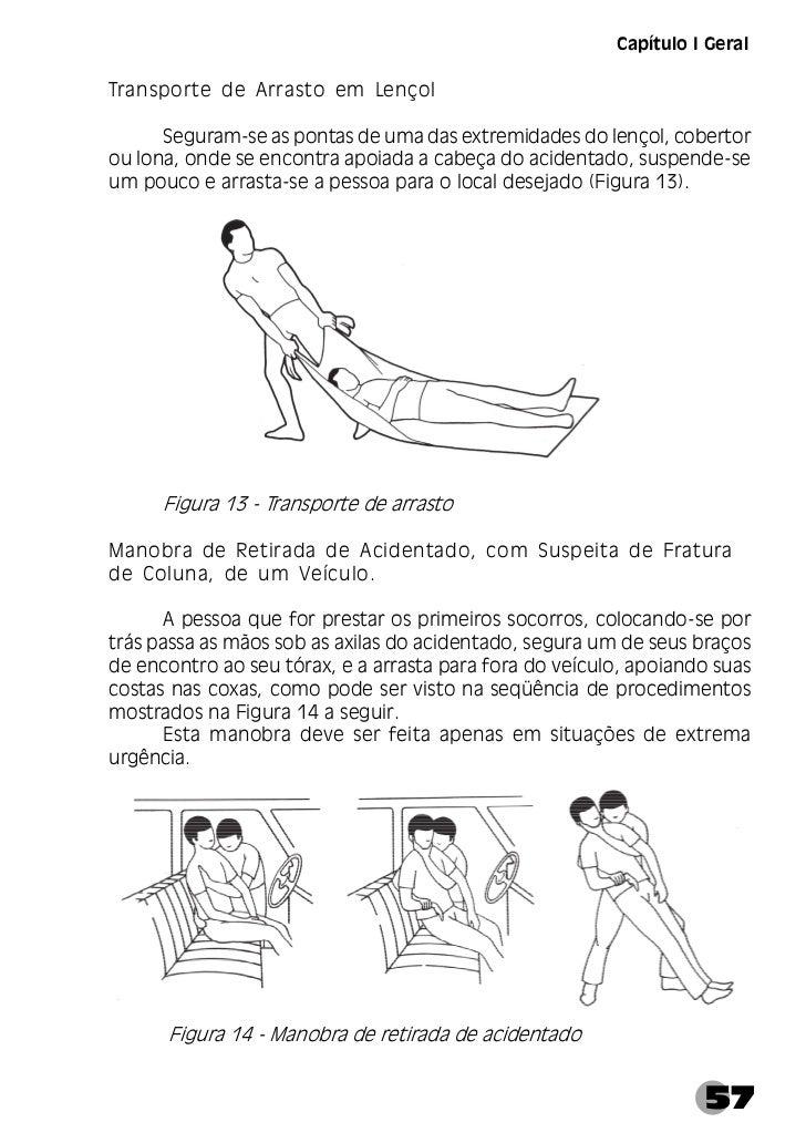 Manual de Primeiros Socorros Ministerio da Saúde
