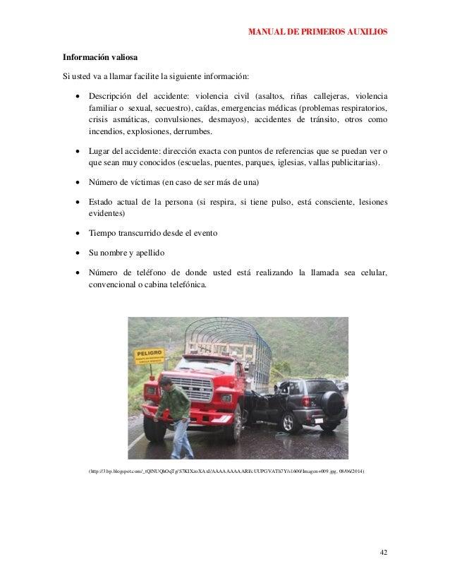 manual de primeros auxilios basicos en word