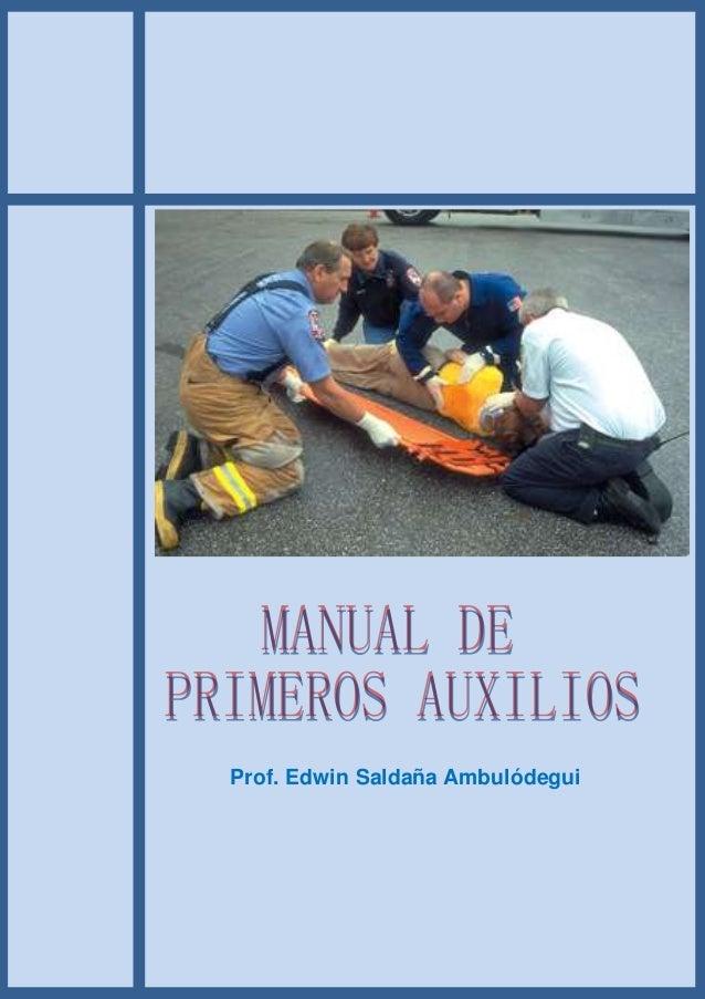 Prof. Edwin Saldaña Ambulódegui