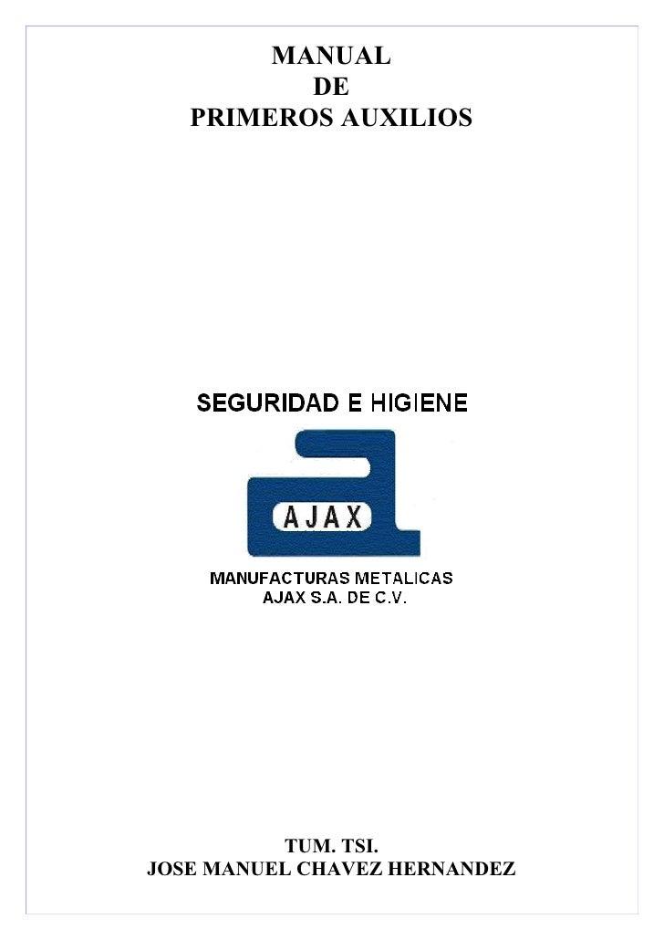 Manual de primeros auxilios ajax 2011