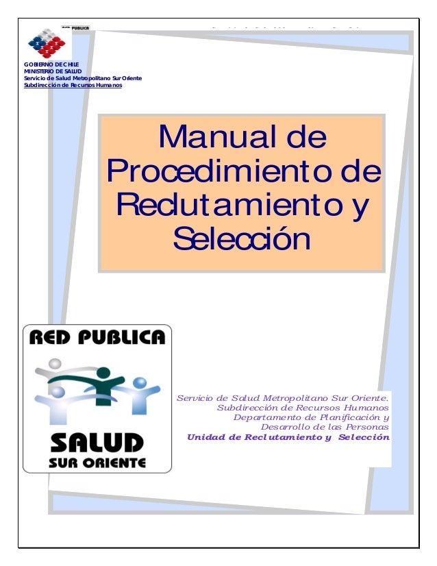 Manual de reclutamiento y selección de personal (página 2.