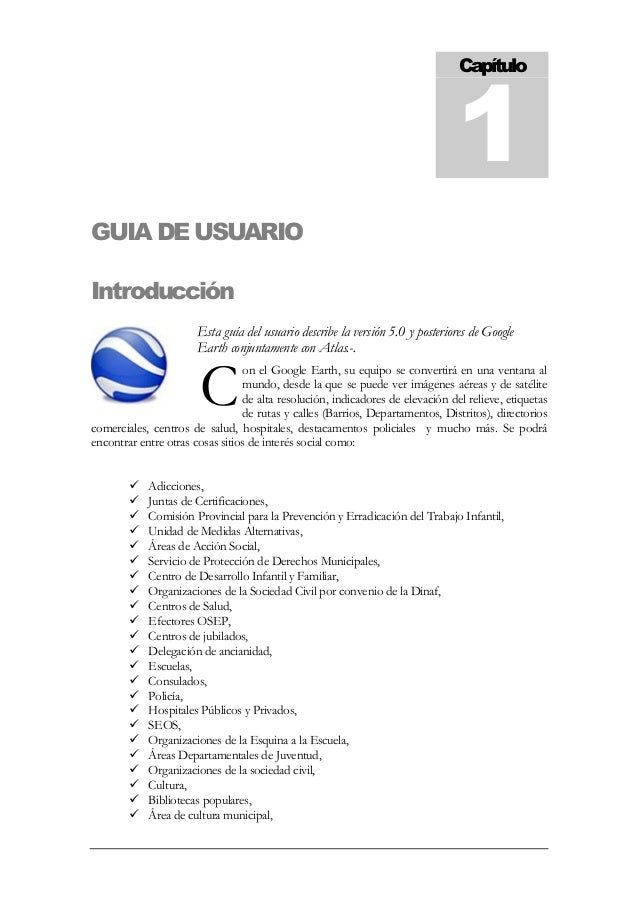 manual de procedimientos de google earth rh es slideshare net google earth manual install google earth manual