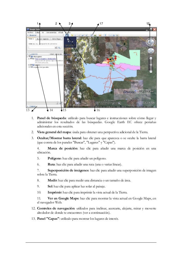 manual de procedimientos de google earth rh es slideshare net google earth manuel google earth manual