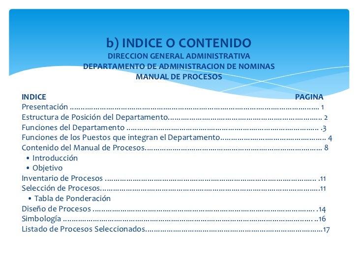 Manual de procedimientos presentacion final procesos for Manual de restaurante pdf