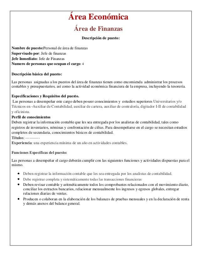 Excelente Objetivo De Resumen De Gerente De Finanzas Imagen ...