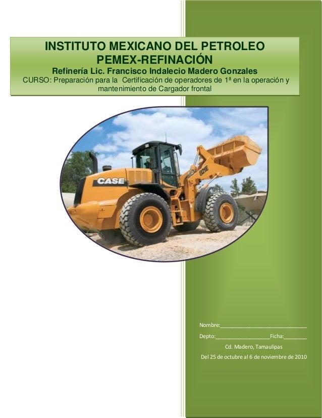1      INSTITUTO MEXICANO DEL PETROLEO              PEMEX-REFINACIÓN        Refinería Lic. Francisco Indalecio Madero Gonz...
