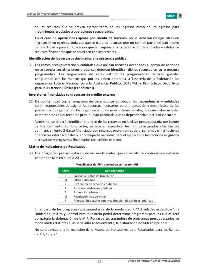 Manual De Pyp 2012 Version 2 0