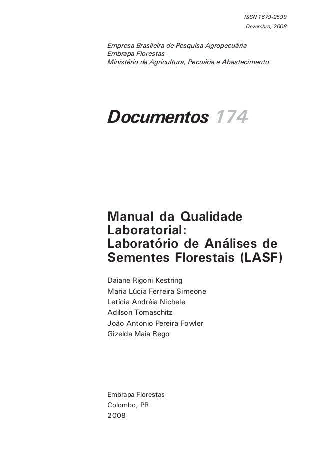 Documentos 174 Embrapa Florestas Colombo, PR 2008 ISSN 1679-2599 Dezembro, 2008 Empresa Brasileira de Pesquisa Agropecuári...