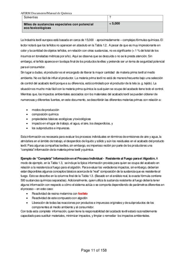 Manual de quimica y productos auxiliares colorantes