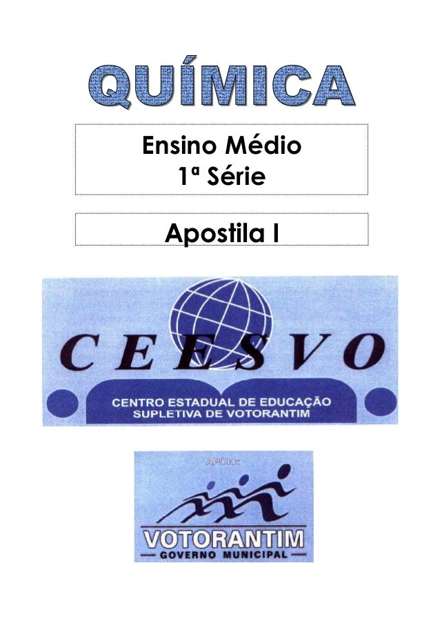 Ensino Médio 1ª Série Apostila I