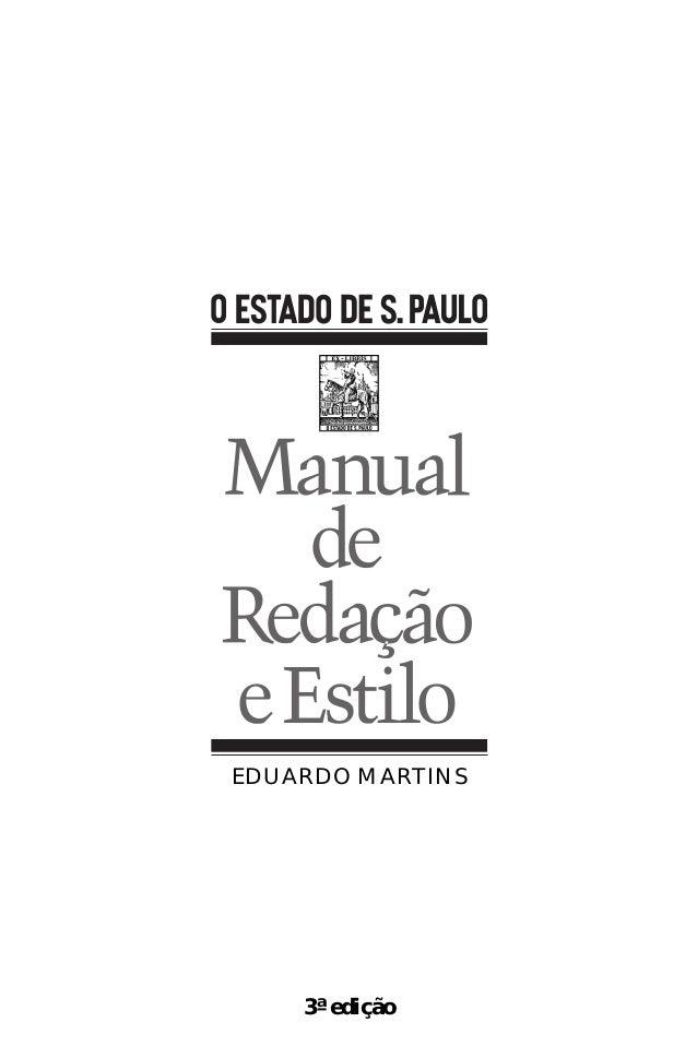 3ª edição EDUARDO MARTINS