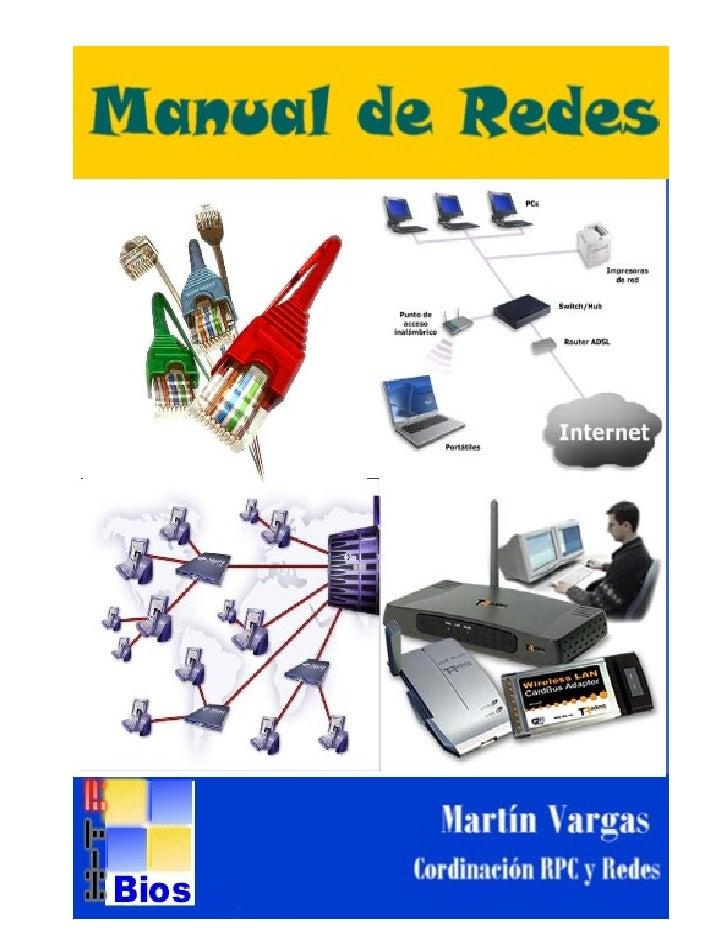 Manual de Redes                                                                    Coordinación Reparación PC y Redes     ...