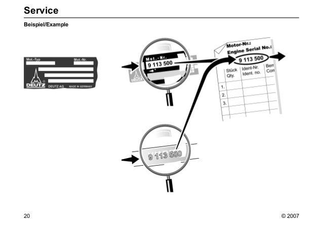 Manual de repuestos motor deutz 2012