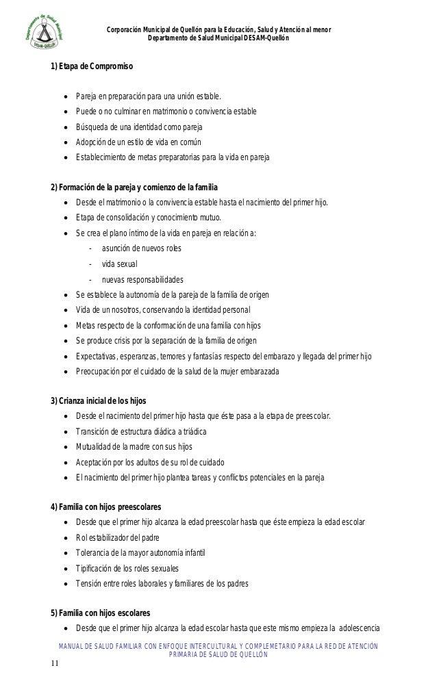 Manual de salud familiar 2013