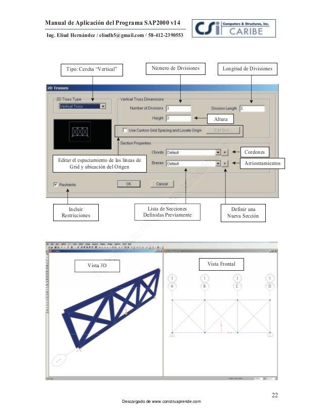 Sap2015 V14 Tutorial Manual