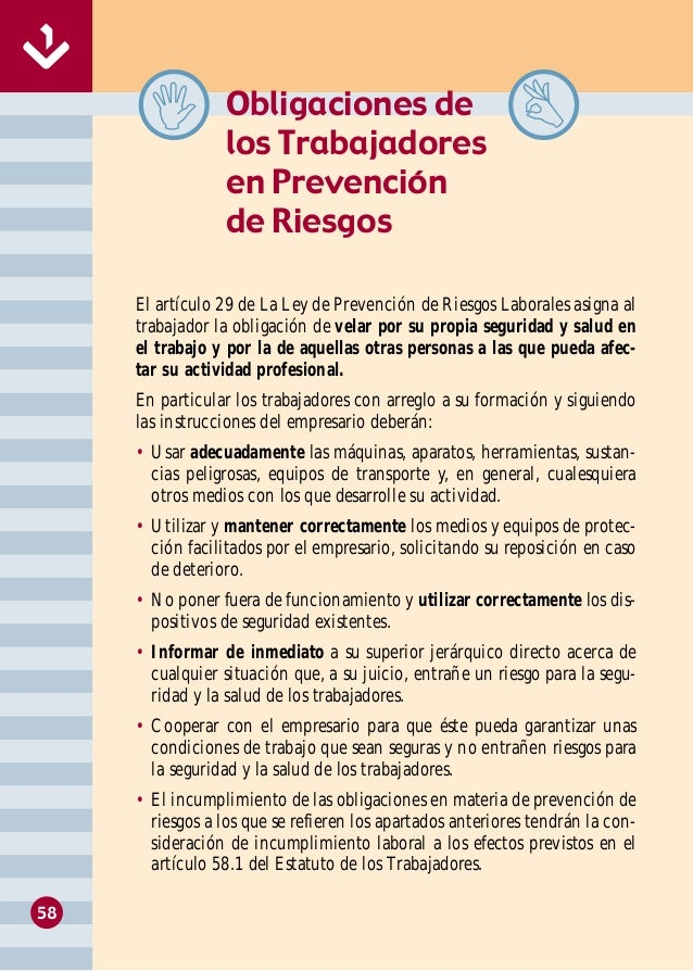 Manual de seguridad y salud en hosteler a for Manual de procedimientos de un restaurante