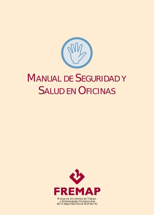Manual de seguridad y salud en oficinas for Oficinas seguridad social