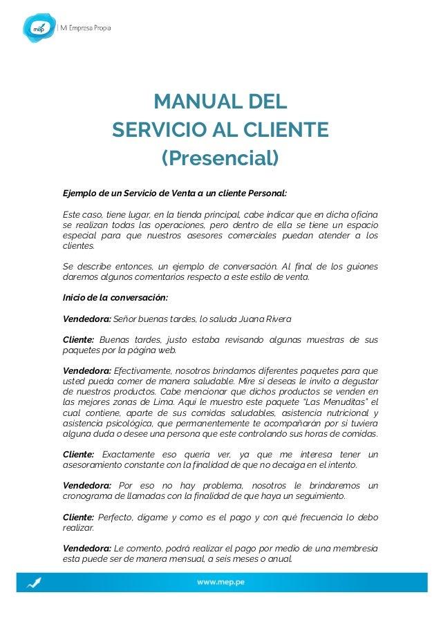 1. INTRODUCCIÓN 2. SERVICIO AL CLIENTE