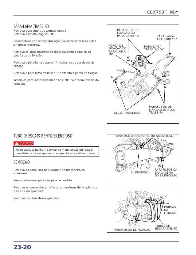 Manual de serviço cbx750 f (1990) suplem2