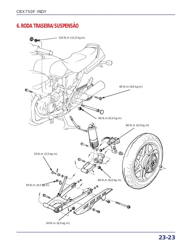 Manual de serviço cbx750 f suplem2