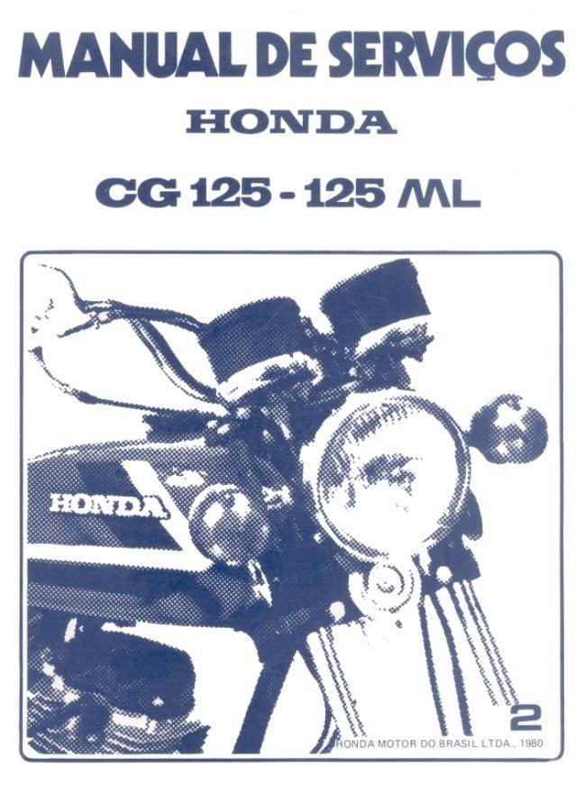 manual de servi o cg125 cg125 ml 1980 cp002 11 80 rh slideshare net manual de serviço cg 125 fan 2009 manual de serviço cg 125 fan 2009