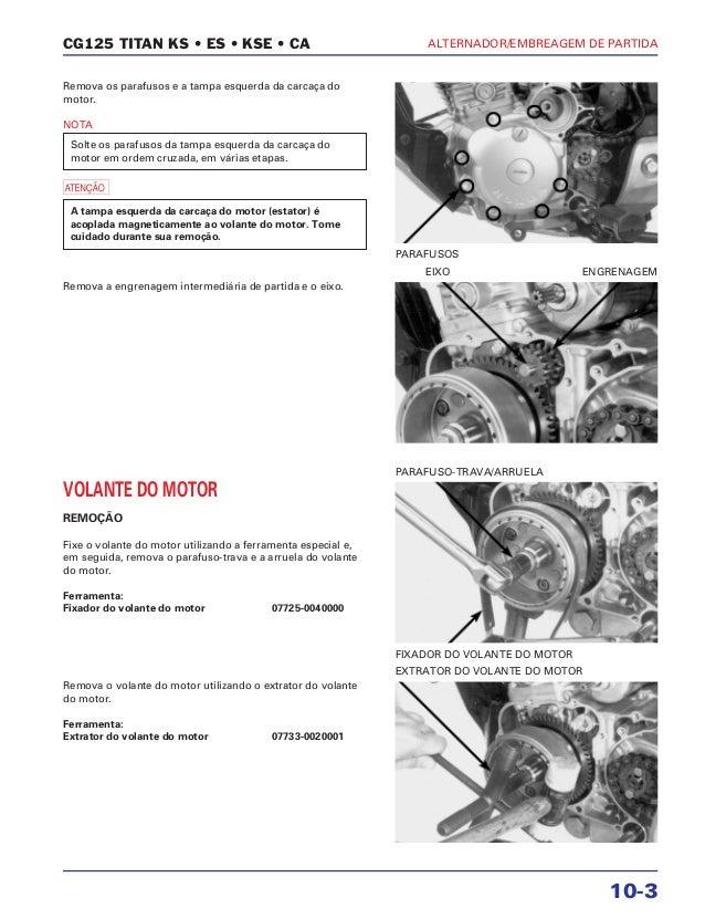 Manual de serviço cg150 titan ks es esd alternad