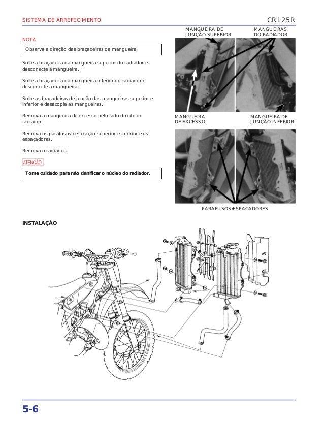 Manual de serviço cr125 00 arrefeci