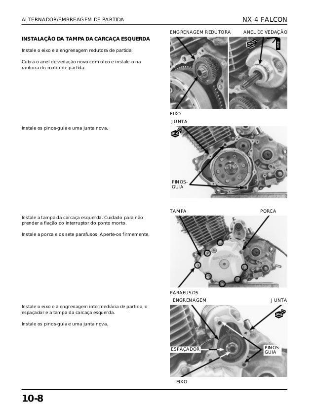 Manual de serviço nx 4 falc alternad
