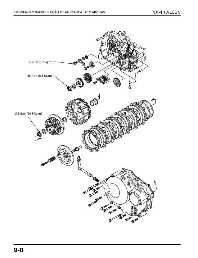 Manual de serviço nx 4 falc embreage