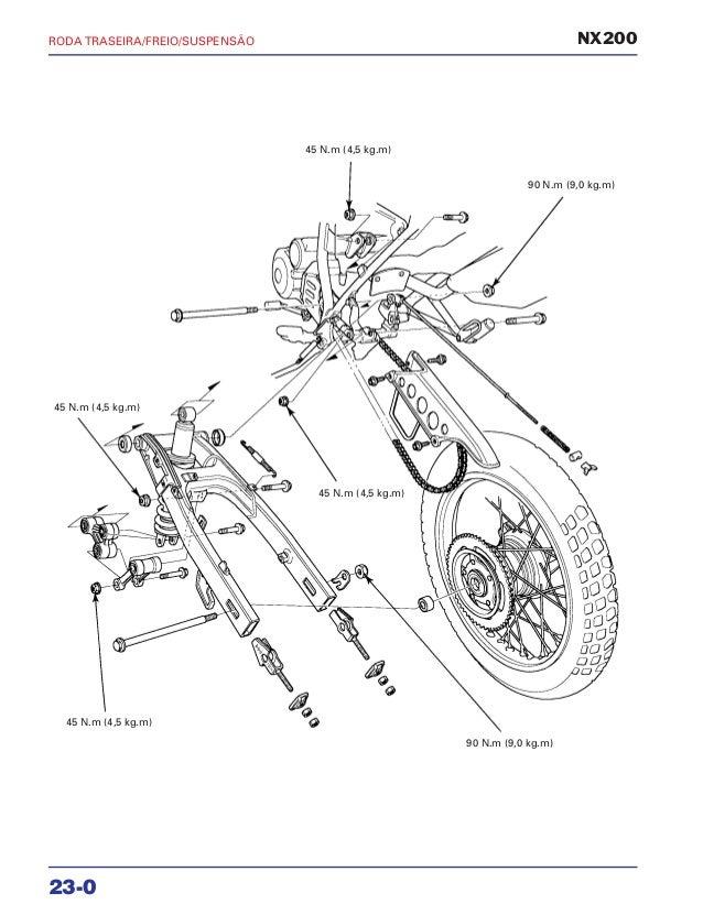 Manual de serviço nx200 xr rodatras2