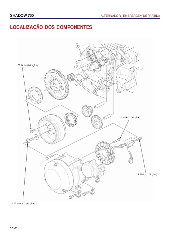 manual de servi o shadow 750 00 x6b meg 001 alternador rh slideshare net manual de alternadores bosch pdf manual de alternadores automotrices