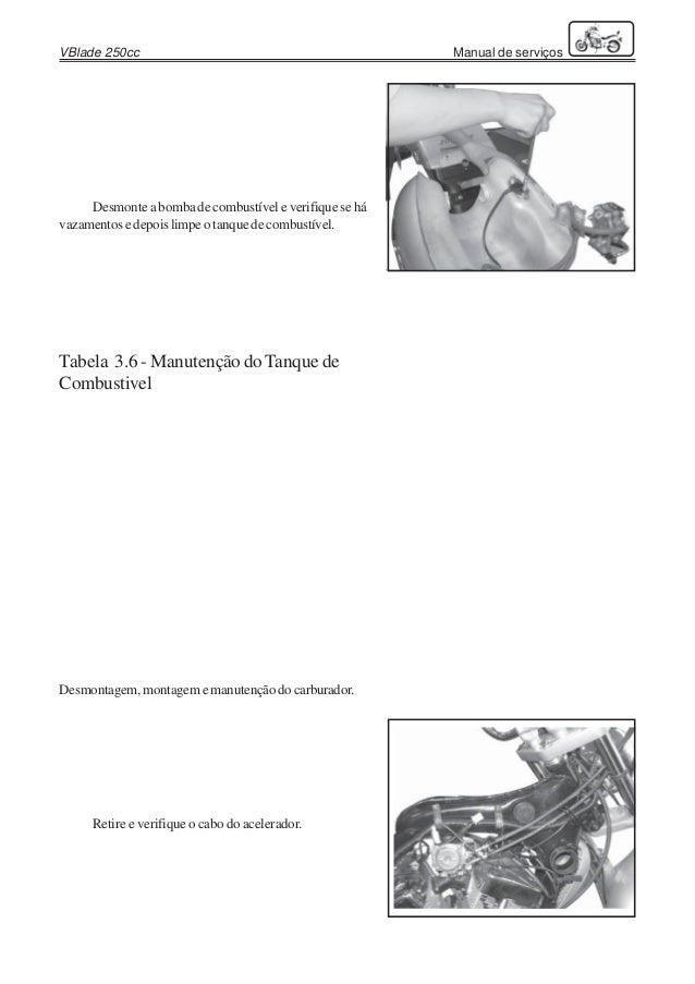 Manual de serviços sundown v blade 250
