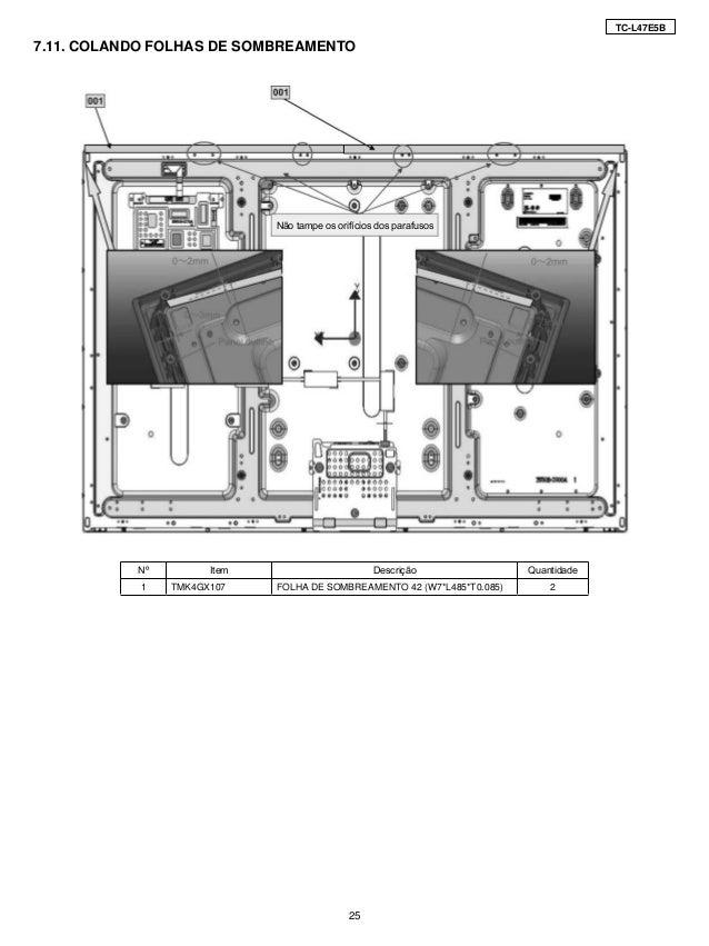 Manual De Servi U00e7o Tv Lcd  Led Panasonic Tc