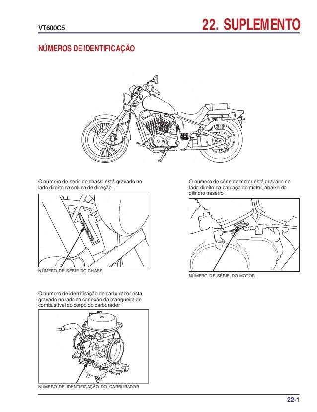 Manual de serviço vt600 c 00x6b-mz8-601 suplemento vt600c-05