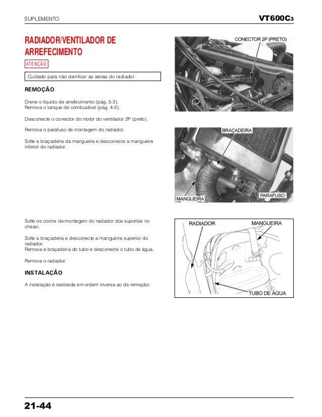 Manual de serviço vt600 c 00x6b-mz8-601 supl-vt600c3