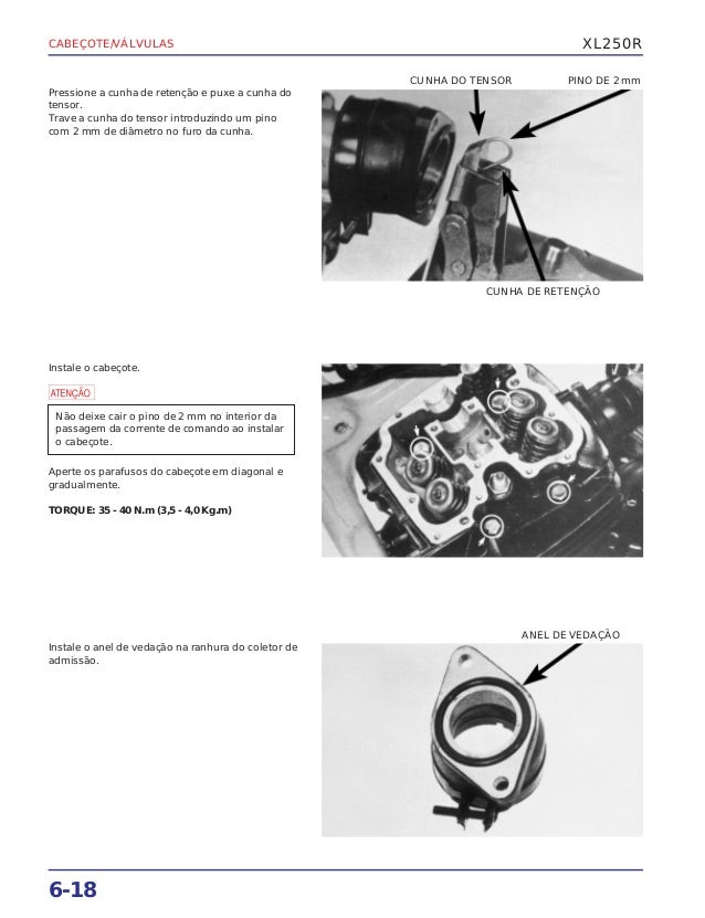 Xl 250 R freerepair Manual