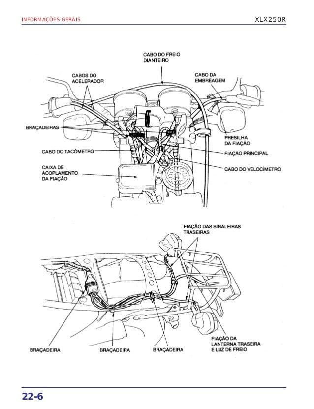Manual de serviço xlx250 r (1986) mskb7861p-s supl xlx250r