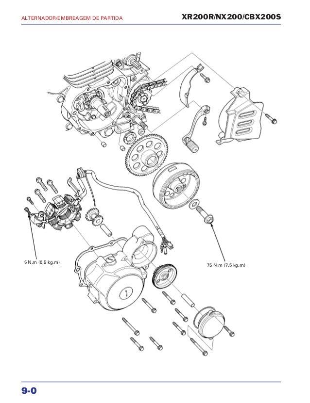 Manual Motor Da Xr200