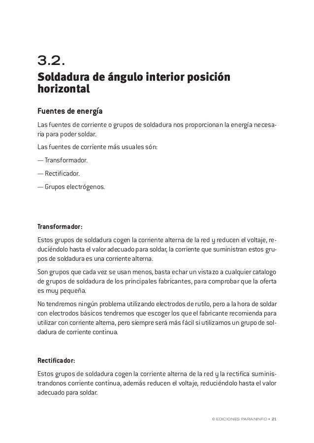 """capÍtulo 3 © EdicionEs Paraninfo • 27 Tipos de soldaduras (según la forma de la unión) Soldaduras """"a tope"""" Sobre uniones """"..."""