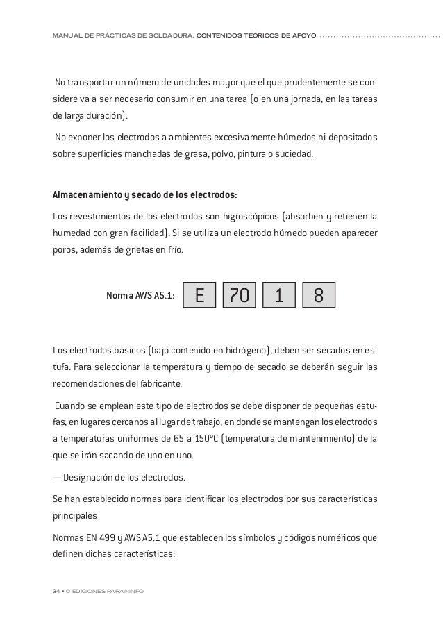 capítulo 5 © Ediciones Paraninfo • 41 — Penetración excesiva: también constituye una imperfección que suele obligar a dar ...