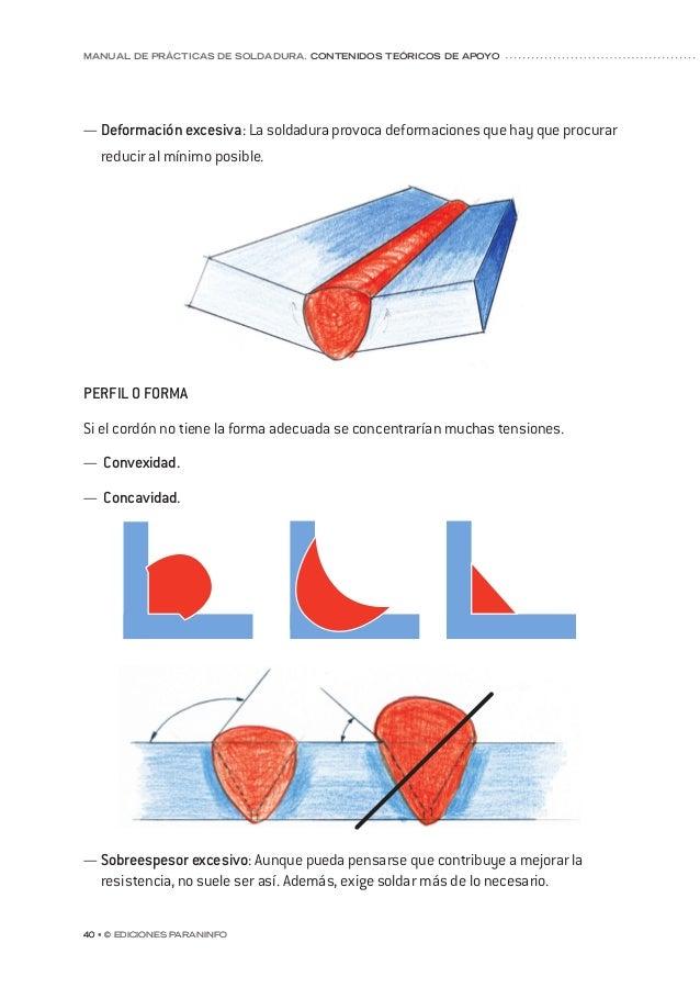 capítulo 5 © Ediciones Paraninfo • 47 gunas propiedades del material. Este fenómeno puede producirse en el cordón de solda...